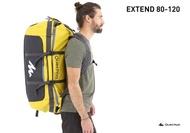 กระเป๋าสะพายหลัง QUECHUA กระเป๋าเดินทาง ขนาด 40 ถึง 60 และ ขนาด 80 ถึง 120 ลิตร