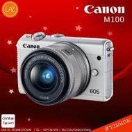 CANON EOS M100 สีขาวมาพร้อม 15-45mm Lens โดย GinkoTown