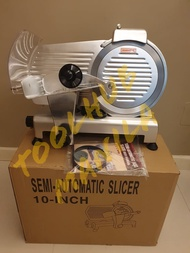 """HEAVY DUTY Meat Slicer with 10"""" 10 inches Stainless Steel Blade for Samgyupsal (Heavy Duty) Professional Commercial Type"""