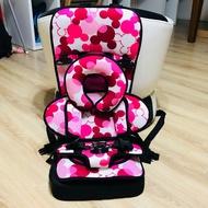 簡易攜帶式兒童汽車安全座椅 (米妮款)