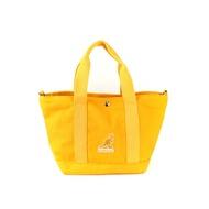 KANGOL 托特包 側背包 帆布包 黃色 6955300560 noA58