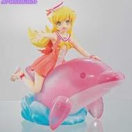 100% ของแท้อะนิเมะ Bakemonogatari Oshino Shinobu Dolphin PVC Action Figure รูปของเล่นรูปตุ๊กตาของขวัญ