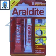 Araldite AB Epoxy Adhesive Super Strong Glue High Performance for Household, Workshop, Industry and Repair Use
