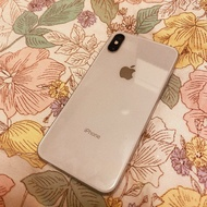 iPhone X 256g -白(女用機)二手