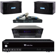 【金嗓】CPX-900 A5+KAR MEN X3+MR-865 PRO+K-101(卡拉OK伴唱機 3TB+擴大機+無線麥克風+主喇叭)