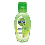 ส่งฟรีDETTOL เดทตอล เจลล้างมือแบบไม่ต้องล้างน้ำ สูตรหอมสดชื่น 50 มล.  ฟรีปลายทาง
