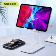 Essager Foldable Desk Mobile Phone Holder Stand For iPhone 12 11 Pro Max iPad Pro Samsung Huawei Tablet Flexible Gravity Table Desktop Stand
