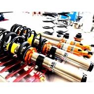 《 IASATI  HONDA K8 》LS 高低軟硬可調 避震器【OLLIE 錴利】-買就送渦輪造型鑰匙圈