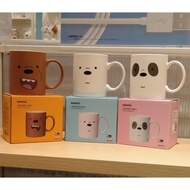 Miniso Ceramics MUG We Bare Bears