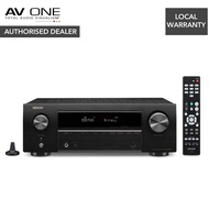 Denon AVR-X550BT 5.2 Ch. AV Receiver with Bluetooth Authorized Dealer/Official Product