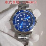 (寥寥)Rolex手錶潛航者系列 勞力士藍水鬼手錶 勞力士機械表 勞力士綠水鬼 藍水鬼 細節做到完美