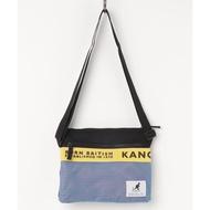 【藍樹林】KANGOL 素材 拼接 肩背袋 肩背包 袋鼠