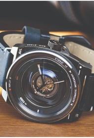 Tacs Tacs Camera Lens Mechanical 手錶 (1803C)