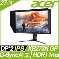 【hd數位3c】ACER Predator XB273K GP(2H2P/IPS/144Hz/含喇叭/G-sync兼容/HDR400)