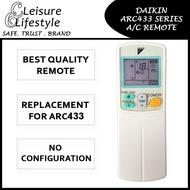 [Singapore Warranty] Daikin Aircon Remote Control ARC433 Daikin Remote