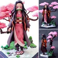 Figure ฟิกเกอร์ Model โมเดล Kimetsu no Yaiba Demon Slayer ดาบพิฆาตอสูร Kamado Nezuko คามาโดะ เนซึโกะ ชุดกิโมโน MoMo Land