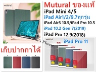 Apple iPad Pro 9.7 Gen 6 /iPad 9.7(2017)/iPad 9.7(2018)/Air1/Air2 Mutural iPad Case With Apple Pencil Holder เคสไอแพตฝาพับ ใส่ปากกาได้ ของแท้ สำหรับ Apple iPad Pro 9.7/iPad Pro 9.7(2017)/iPad Pro 9.7(2018)