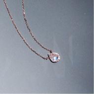 Korea [IU wear] Moonstone Tiers Necklace K Pop star singer idol
