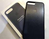 Iphone 7/8 Plus 原廠皮革保護殼 午夜藍