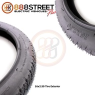 16x2.5 eBike Electric Electronic Tire Exterior