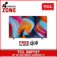 TCL 55″ 4K UHD Smart Android TV LED-55P727 / TCL 55 inch LED TV / TCL ANDROID TV