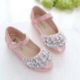 รองเท้าแฟชั่นคัชชู แบบสวย ราคาถูก สำหรับเด็กผู้หญิง สำหรับเด็ก 2- 5 ปี สีชมพู