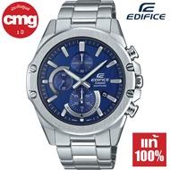 Casio Edifice Super Slim กระจกแซฟไฟร์ นาฬิกาข้อมือผู้ชาย สายสแตนเลส รุ่น EFR-S567D ของแท้ ประกัน CMG