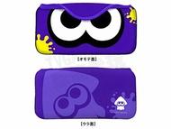 任天堂 SWITCH NS KEYS FACTORY 漆彈大作戰2 漆彈2 花枝 主機包 軟布包 收納包 攜帶包 紫色