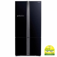 Hitachi R-WB735P5MS 4-Glass door Fridge 590L *FREE RICE COOKER*