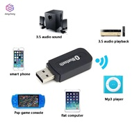 Bluetooth 2.0 Music Audio Mono Receiver 3.5mm A2DP Adapter USB Wireless for Android/IOS Phone