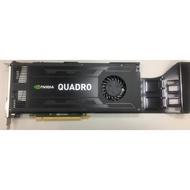 二手良品-nVIDIA Quadro K4000 3GB 3D 繪圖卡