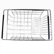 AA026 不銹鋼伸縮式碗盤瀝水架 304不銹鋼置物架瀝水籃 碗碟收納架 滴水籃滴水架(水槽籃可伸縮)