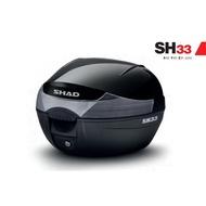 西班牙 SHAD 33 行李箱~機車後箱~機車後行李箱~SH33~33公升~行李箱~