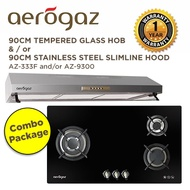*Combo Package* Aerogaz Hob 90cm AZ-333F and/or Aerogaz Slim Lux Hood 90cm AZ-9300