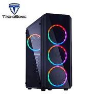 (C+P) TrendSonic 翰欣 MARS ATX 電競 電腦機殼 + TrendSonic翰欣 銅霸 650W 80Plus銅牌 電源供應器