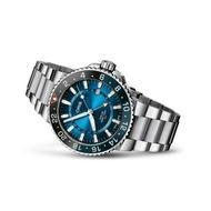 【ORIS 豪利時】卡里斯福特礁全球限量錶鋼帶款(0179877544185-SetMB)