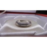 刻紋白金戒指 PT 鉑金 platinum 純白金 戒指 白金戒 鉑金戒指  二手  寄賣 6.34{需維修} k金回收