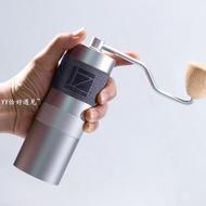 1presso J 手搖磨豆機創新設計雙軸精密鋼磨芯手動咖啡研磨家用