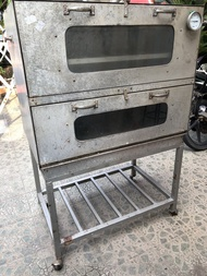 oven gas bekas