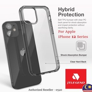 JTLEGEND Apple iPhone 12 Mini / iPhone 12 / iPhone 12 Pro / iPhone 12 Pro Max Hybrid Cushion Case Phone Cover Casing