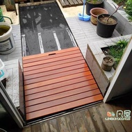 浴室防滑墊 印尼菠蘿格浴室木地墊淋浴地板衛生間防腐木踏板防水防滑定制 麥琪精品屋