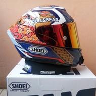 Full Face Motorcycle Helmet Shoei X-Spirit III X14 Helmet Marquez5 Motegi3 TC-2 Helmet Riding Motocross Racing Motobike
