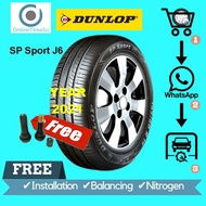 195/60R15 - Dunlop SP Sport J6 (With Installation)
