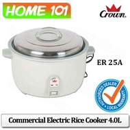 CROWN Commercial Rice Cooker 4.0L ER 25A