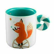 Starbucks星巴克限量(斷貨款)戲法狐狸馬克杯/大象咖啡杯/點心盤+贈送星巴克精美禮物包裝紙及紙提袋