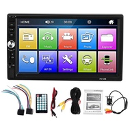 7012B 7 Inch Bluetooth V2.0 Car Audio Stereo MP5 Player 12V Auto Video Support FM USB Remote Control