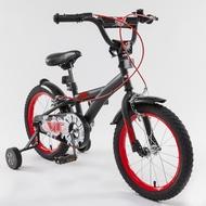 Ventura范圖拉 16 吋 兒童腳踏車-黑紅色