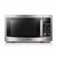 Toshiba EC042A5C-SS Microwave Oven with Convection Function Smart Sensor and LED Lighting, 1.5 cu. f