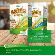 Garut Umbi Cereal / ORIFLAKES Arrowroot Flour Less Sugar Suitable For Diabetes