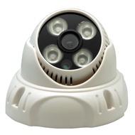 監視器攝影機 - 奇巧 AHD 720P 4陣列燈1000條雙模切換百萬半球型夜視攝影機